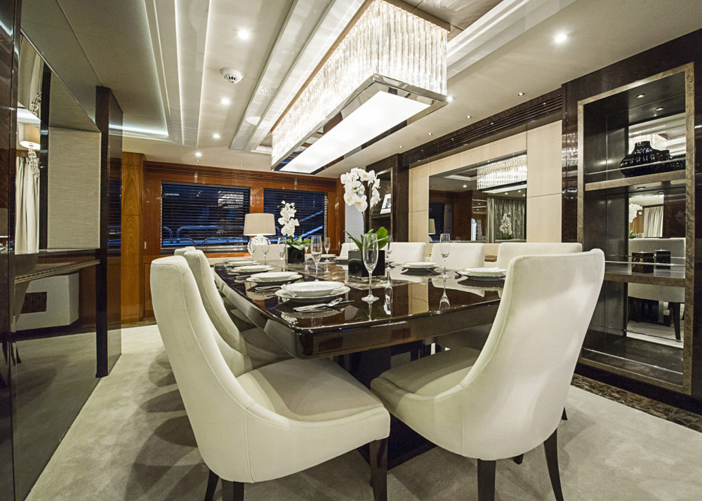 Interior Design Services (IDS) interior design scheme for Sunseeker